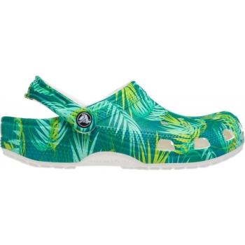 Crocs™ Classic Tropical Clog White/Multi