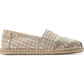 TOMS Global Woven Rope Women's Alpargata Taupe