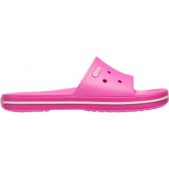 Crocband III Slide Electric Pink/ White