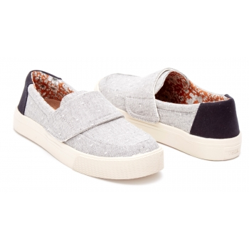Chambray Dot Women`s Altair Slipon Grey