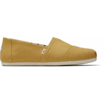 TOMS Heritage Canvas Men´s Alpargata Yellow