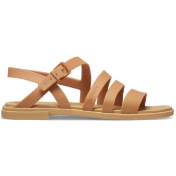 Crocs™ Tulum Sandal W Dark Gold