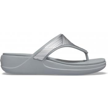 Crocs Monterey Metallic WGFPW Silver