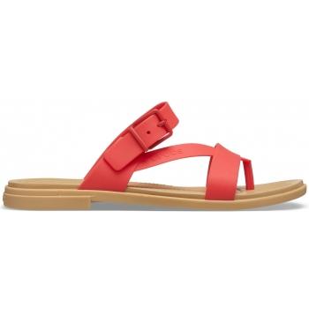 Crocs Tulum Toe Post Sandal W Flame
