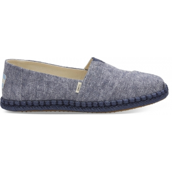 Chambray on Rope Women`s Alpargata Navy