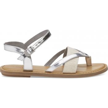 Specchio Hemp Women`s Lexie Sandal Silver