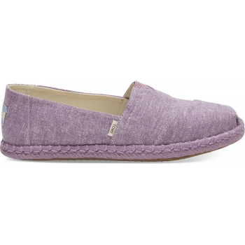Chambray on Rope Women`s Alpargata Rose Violet