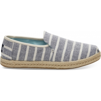 Cabana Stripes Women`s Deconstructed Alp Navy
