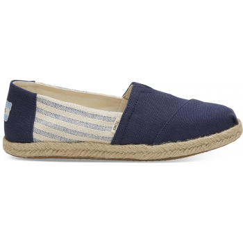 Canvas Ivy League on Rope Women`s Alpargata Navy