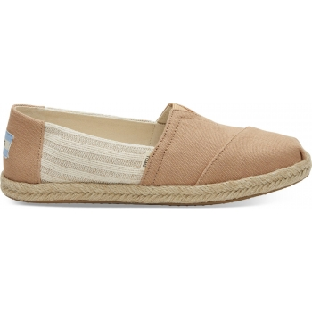 Canvas Ivy League on Rope Women`s Alpargata Honey
