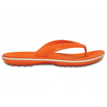 Crocband™ Flip Orange/White