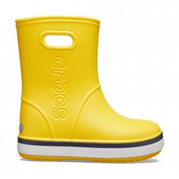 Crocband™ Rain Boot K Yellow/Navy