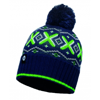 KNITTED & POLAR HAT BUFF® ASPENMEDIEVAL BLUE-MEDIEVAL BLUE