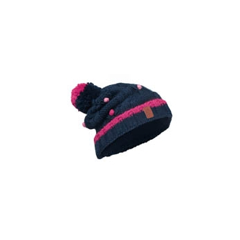 JUNIOR KNITTED & POLAR HAT BUFF® DYSHADARK NAVY-DARK NAVY