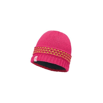 JUNIOR KNITTED & POLAR HAT BUFF® JAMBOPINK AZALEA-PINK AZALEA