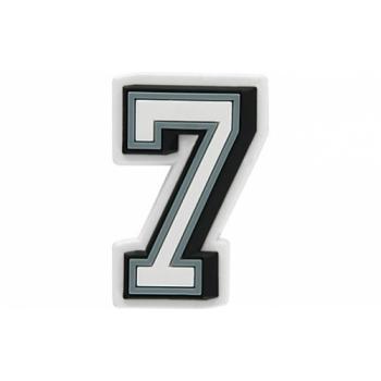 JIBBITZ B&W NUMBER 7