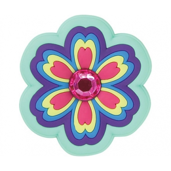 Rhinestone Rainbow Flower