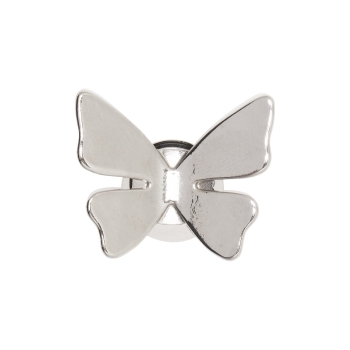 3-D Butterfly Silver