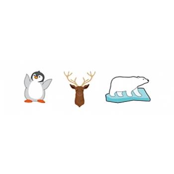 WINTER ANIMALS 3-PACK