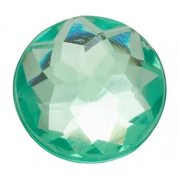 SPARKLY GREEN CIRCLE
