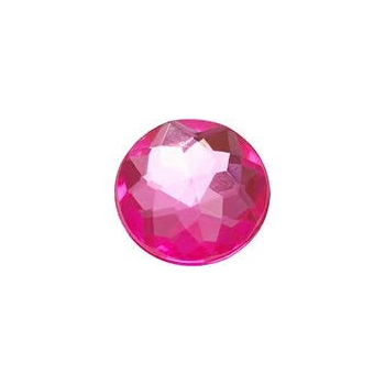 SPARKLY PINK CIRCLE