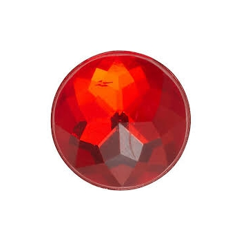 SPARKLY RED CIRCLE