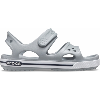 Crocband™ II Sandal PS Light Grey/Navy