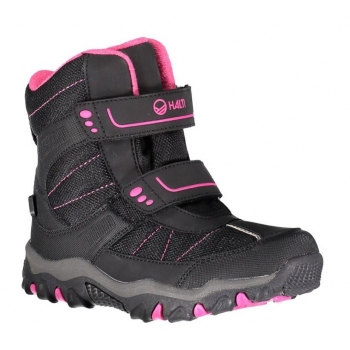 Robu DX jr snowboot, Black/Iris Red