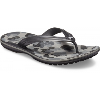 Crocband Seasonal Graphic Flip Slate  Grey/Black