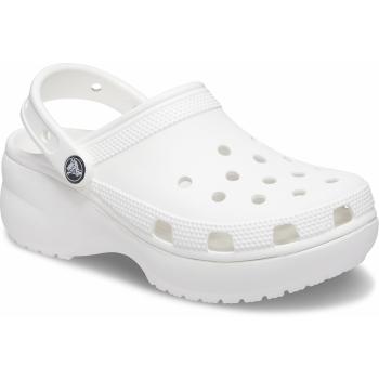 Classic Platform Clog White