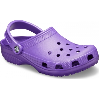 Classic Clog Neon Purple
