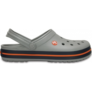 Crocband Clog Light Grey / Navy