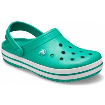 Crocband Clog Deep Green / White