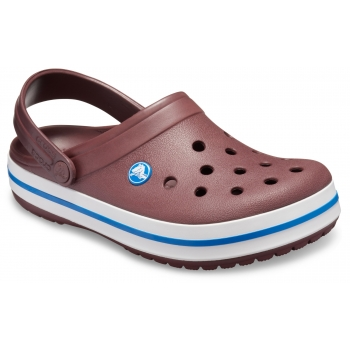 Crocband Clog Burgundy / White