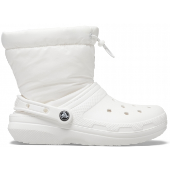 Classic Lined Neo Puff Boot White/White