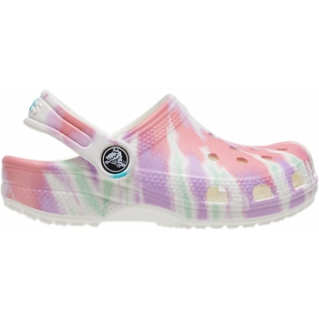Classic Tie Dye Graphic Clog K Fresco/Multi