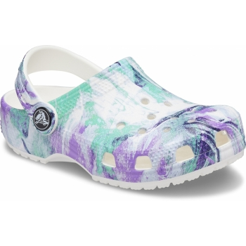 Classic Out of this Word II Clog Kid´s White/Multi