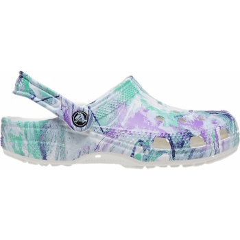 Classic Out of This World II Clog White/Multi