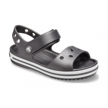 Kids' Crocband Sandal Graphite