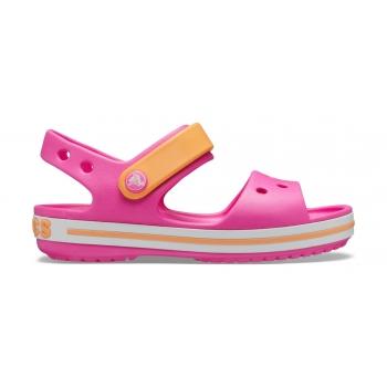 Crocband™ Sandal K Electric Pink/Cantaloupe