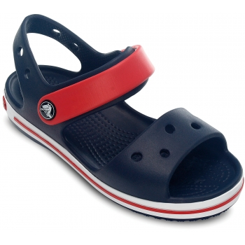 Kids' Crocband Sandal Navy/Red