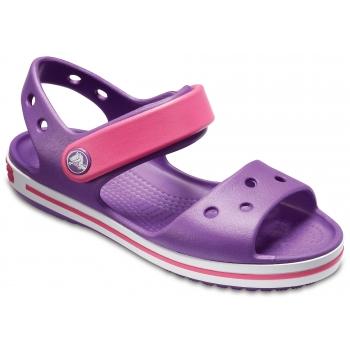 Kids' Crocband Sandal Amethyst/Paradise Pink