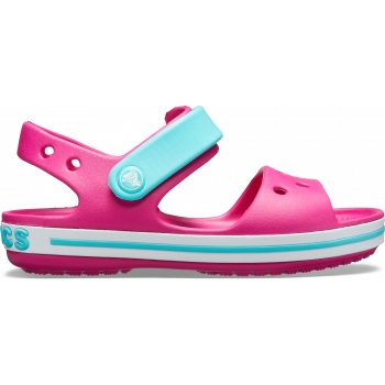 Kids' Crocband Sandal Candy Pink/Pool