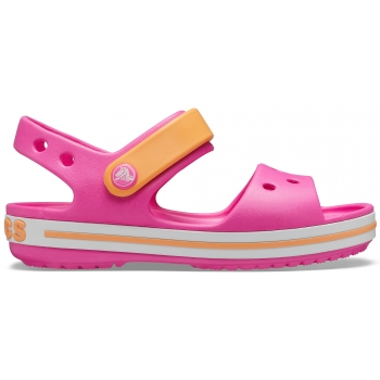 Crocband Sandal K Electric Pink/Cantaloupe