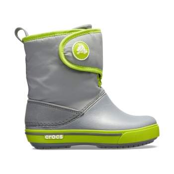 Crocband™ II.5 Gust Boot Charcoal/Volt Green