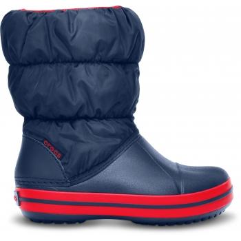 Winter Puff Boot K Navy/Red