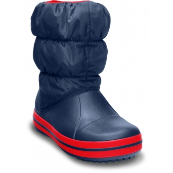 Winter Puff Boot K Navy/Red