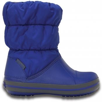 Winter Puff Boot K Cerulean Blue/Light Grey