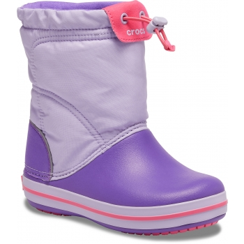Crocband LodgePoint Boot K Lavender/Neon Purple