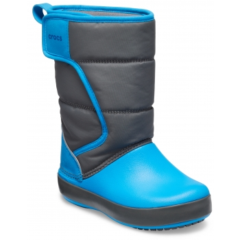 LodgePoint Snow Boot K Slate Gray/Ocean